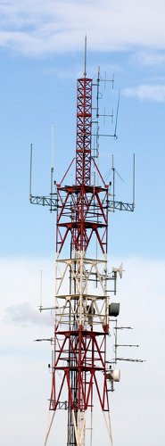 Multiple Address System Antenna Site